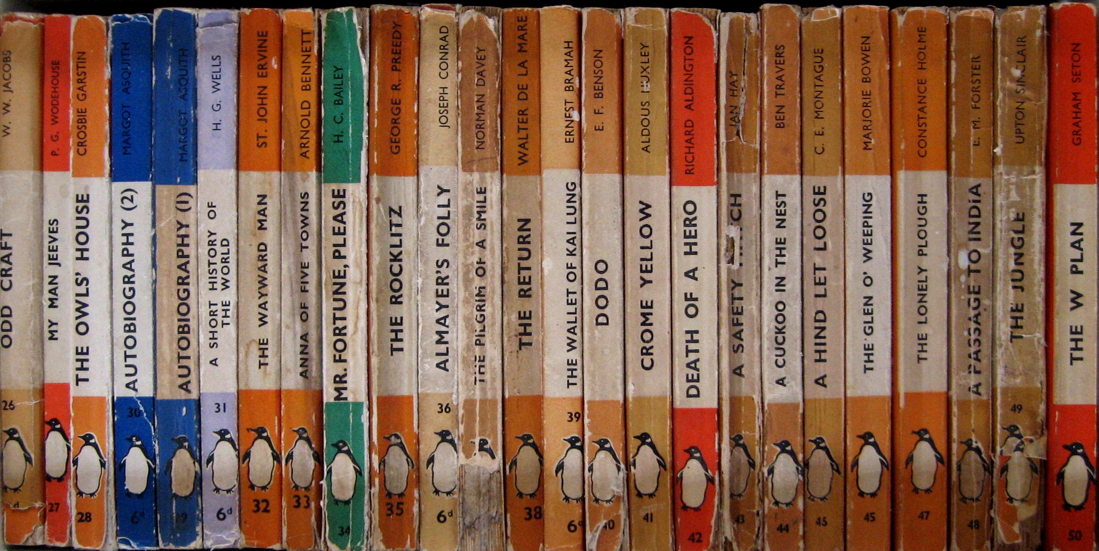 One Hundred Penguin Books Spitalfields Life