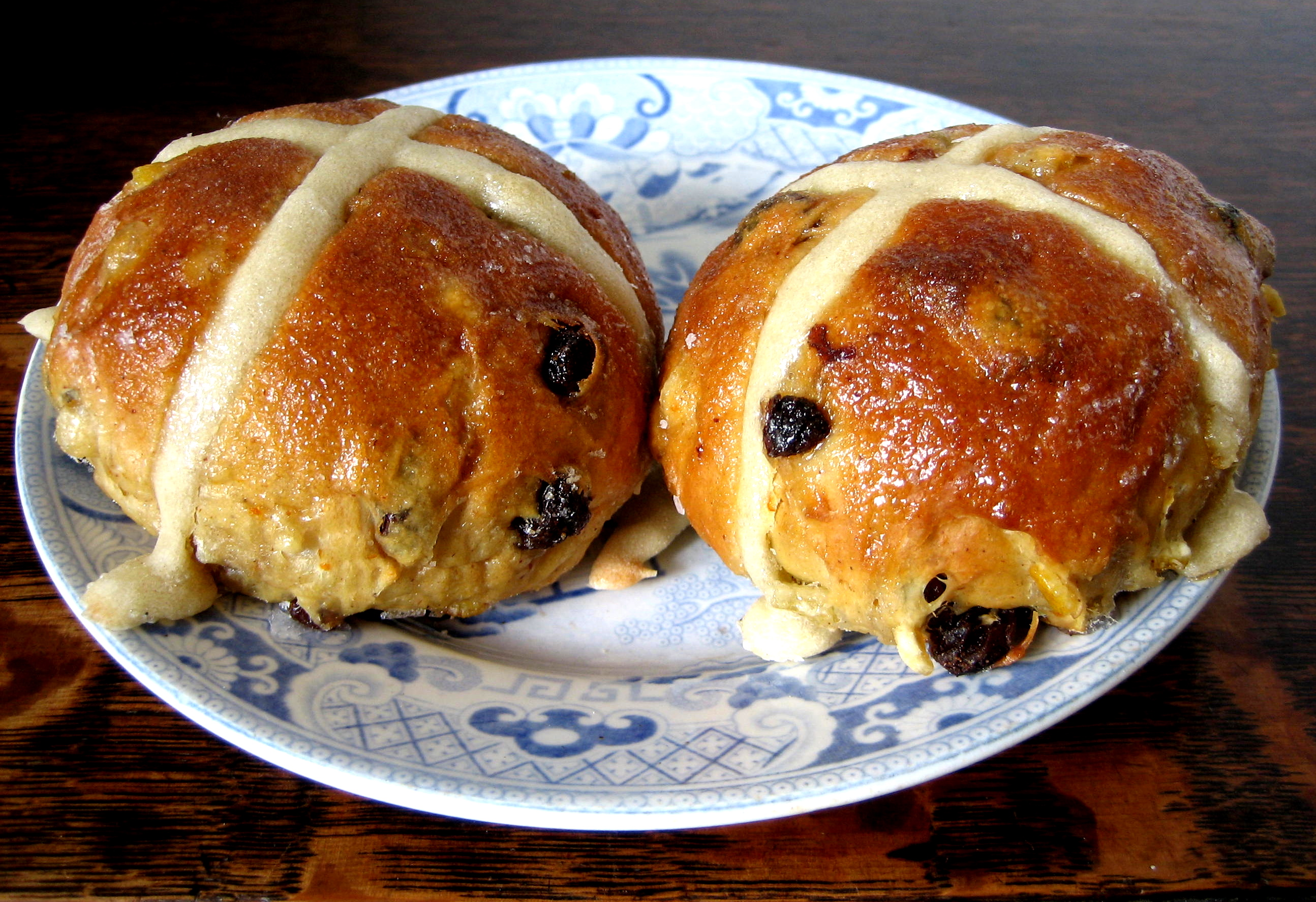 Hot Cross Buns from St John | Spitalfields Life
