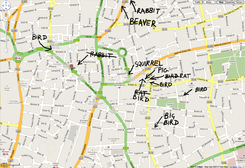 Shoreditch Street Art Map Street Art London Map